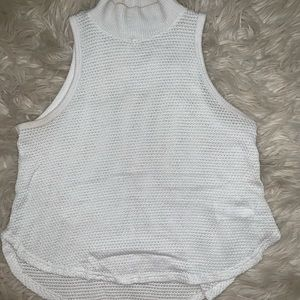 Crop top turtle neck shirt